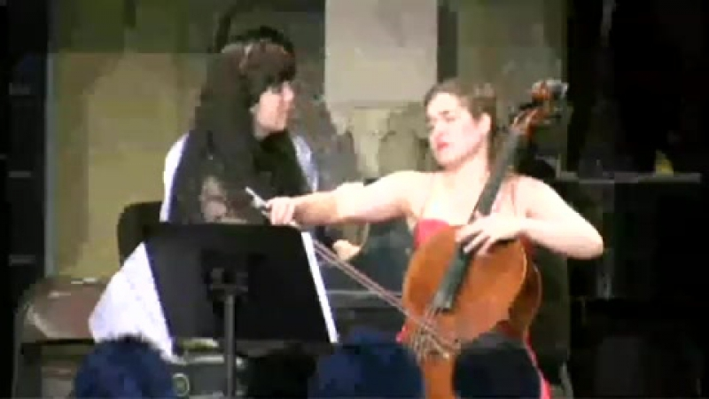 Alisa Weilerstein Lera Auerbach _ AUERBACH Sonata for Violoncello and Piano _
