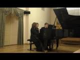 С. Рахманинов, Вальс, Романс для фортепиано в 6 рук Д. ВОРОНЦОВА К. ПРОКОПОВ Д. САВВАТЕЕВА