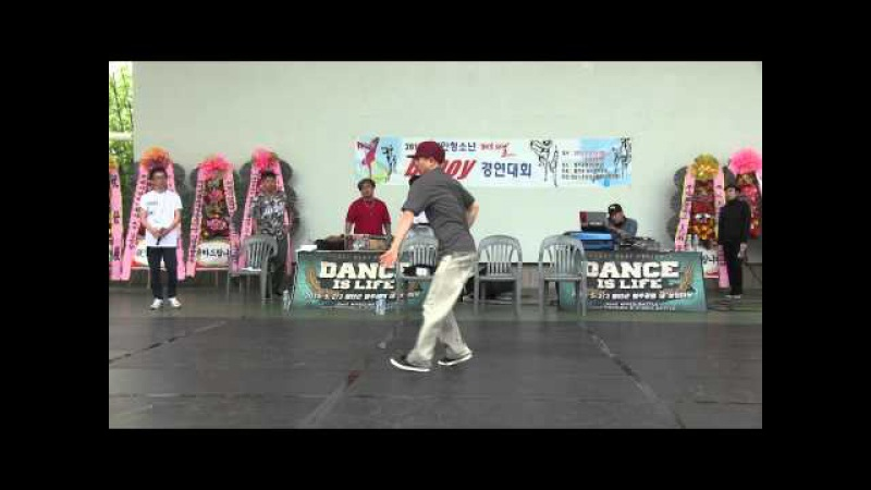 2015 Dance Is Life vol 1 POPPING SIDE   JUDGE SHOW   POPBONG