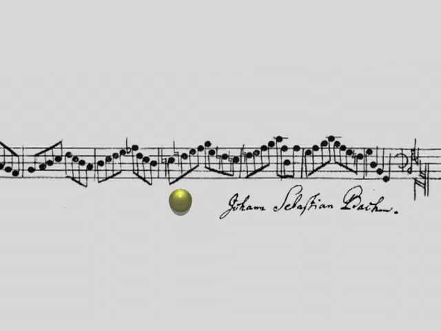 J.S. Bach - Crab Canon on a Möbius Strip