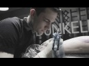 LEITBILD Making of 4 different Tattoos