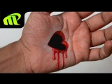 Drawing a 3D Heart Hole - Anamorphic Illusion | Trick Art