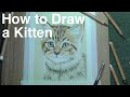 How To Draw a Kitten - Free Art Course - Pastel Pencils