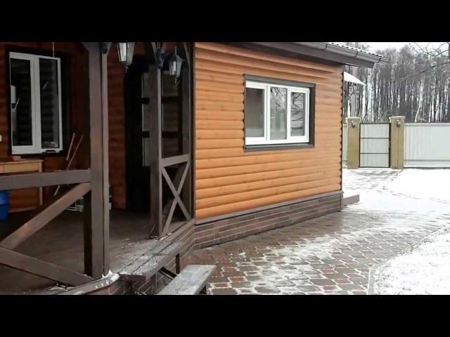 Обшивка дома блок-хаусом. В пензе и Пензенской области. Звони