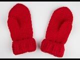 Дианкины варежки - mittens - вязание крючком