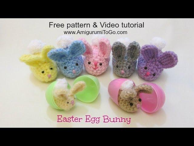 Crochet Along Easter Egg Bunny