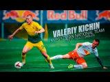 Валерий Кичин защитник сборной Кыргызстана ! Финты, Голы, Дриблинги! Baha Djo