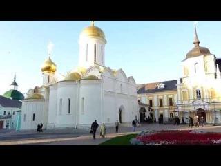 Сергиев Посад, Троице-Сергиева лавра 22 сентября 2014 года.Золотое кольцо России.