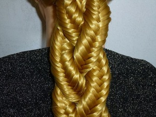 Плетение волос/косичек. Косичка Рыбий хвост.Коса из косичек.Красивая причёска на 1 сентября в школу