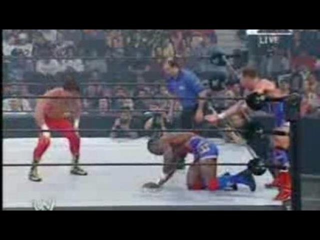 WWE Backlash 2003 - Team Angle Vs Los Guerreros