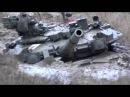 Russian tank T-90 (1000HP) stuck in the mud - Русский танк Т-90 (1000 л.с) застрял в грязи