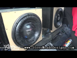 Loud Ain't always Pretty - 2 Duct-Taped DC Audio 12's 155.6db