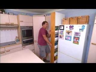 how to make kitchen cabinet storage