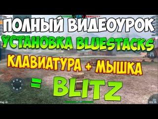 Комфортно играть в BLITZ на ПК * клавиатура + мышь
