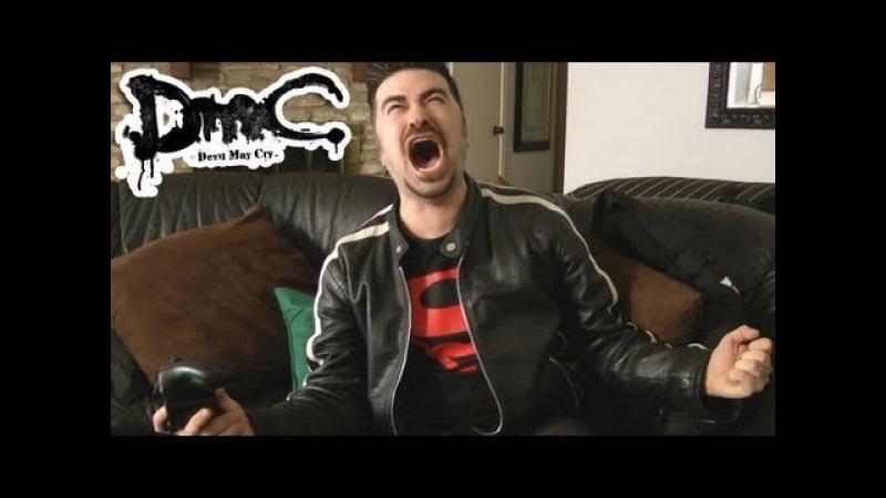 Angry Joe - Обзор на DmC: Devil May Cry(RUS VO)