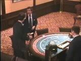 Легендарное видео из казино Ёбаный рот этого казино, блядь! Ты кто такой, сука! чтоб это сделать