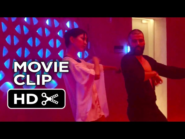 Ex Machina Movie CLIP - Tear Up The F@king Dance Floor (2015) - Oscar Isaac Movie HD