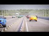 Крым Мост через Керченский пролив  Новая версия