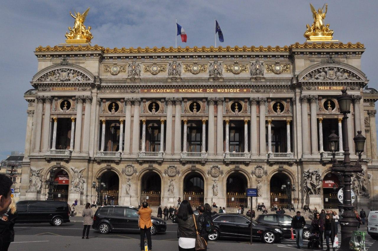 Та самая Опера в Париже
