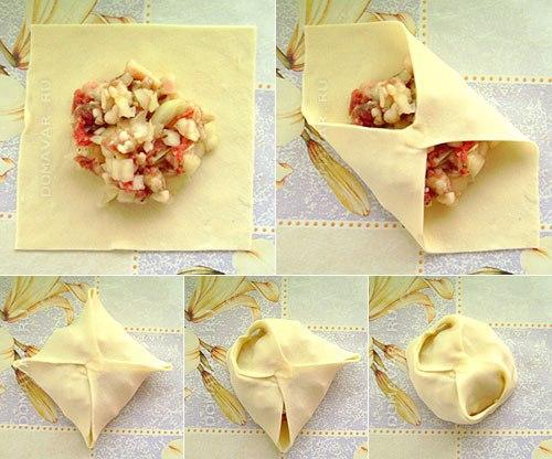 манты рецепты с фото пошагово