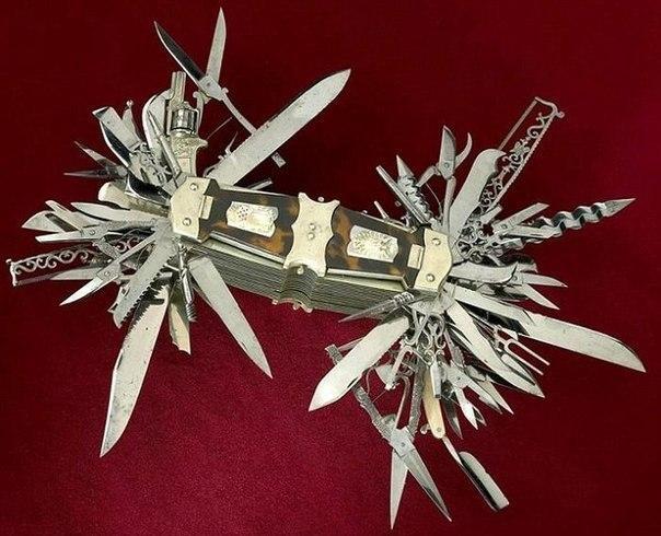 Мега складной ножик