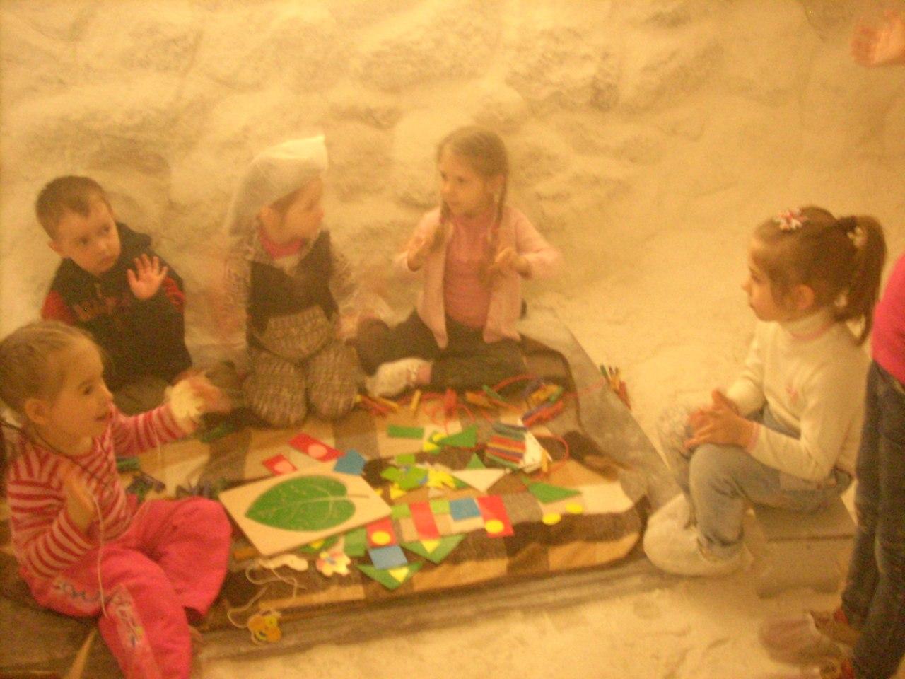 Детские праздники в соляной комнате