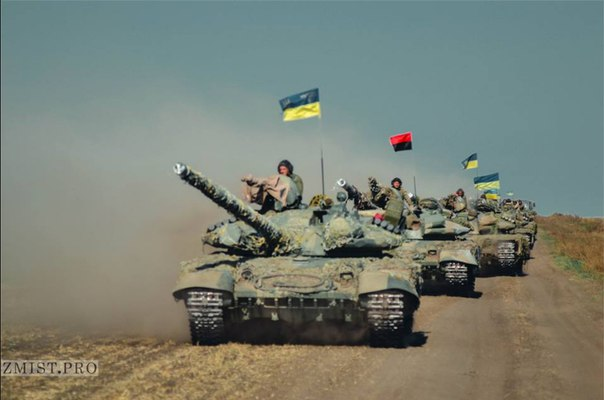 "ОБСЕ зафиксировала отвод 30 танков боевиками ""ЛНР"" от линии разграничения - Цензор.НЕТ 4702"
