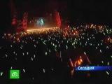 Miku Hatsune on russian television Мику Хацуне на НТВ