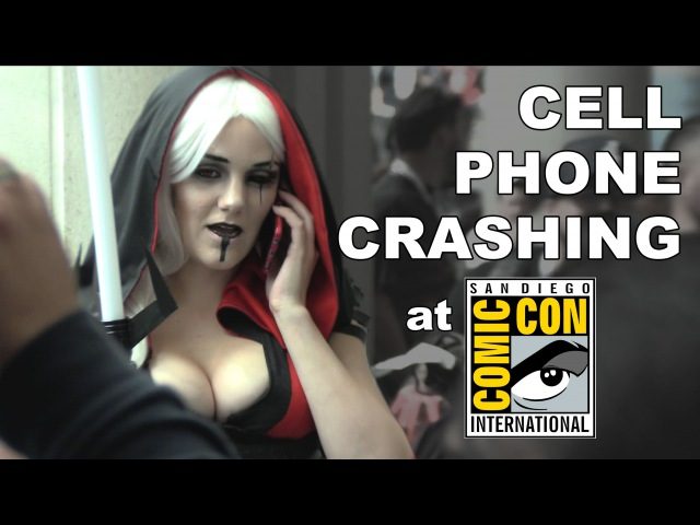 MediocreFilms - CELL PHONE CRASHING at COMIC-CON 2015! SDCC