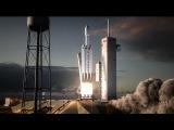 Falcon Heavy   Flight Animation