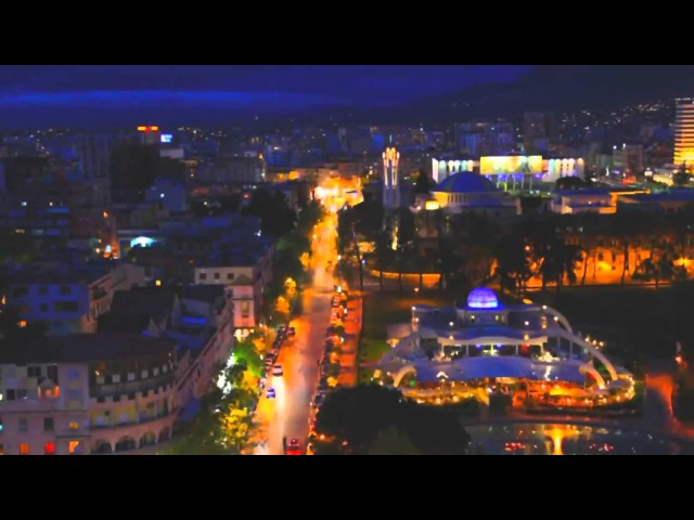 Tirana Albania Тирана Албания Time Lapse