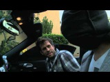 Blindfold drive Lior suchard- with his eyes covered