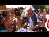 Rudy Zerby DJ in Aquafan con Mash Machine