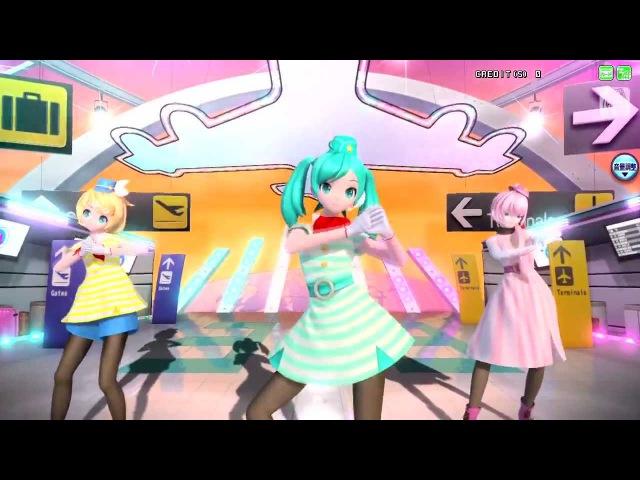 Project DIVA Arcade Future Tone ~ Tricolore Airline