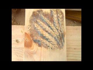 Перенос картинки с бумаги на деревянную поверхность