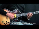 5 Bebop Jazz Guitar Licks - Charlie Parker Style - Part 1 (Lick #1 -#5)