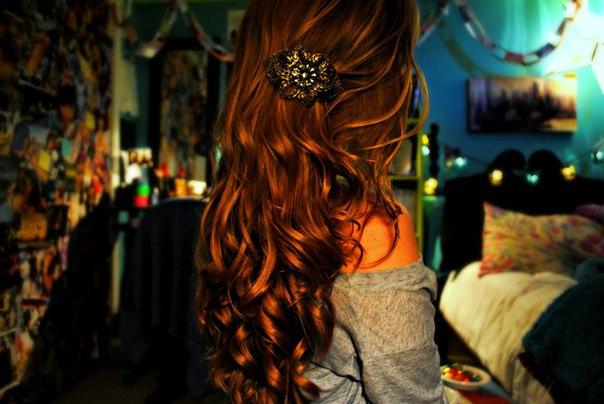 Фото красивая рыжая девушка со спины 21 фотография