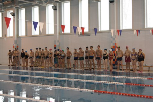 Соревнования по плаванию в Сухиничах