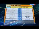 Вести спорт 2013. Волейбол. «Белогорье» вырвало победу у «Кузбасса»