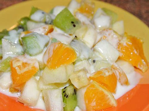 Рецепты салатов с йогуртом