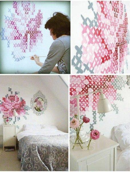 Как легко украсить спальню