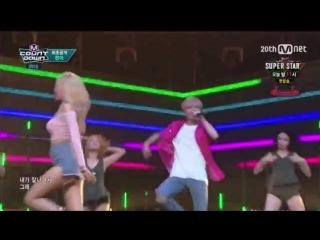 [Comeback Stage] 150820 HYUNA (현아) - Roll Deep (잘나가서 그래) feat. ilhoon 정일훈 (BTOB 비투비) @ M! Countdown