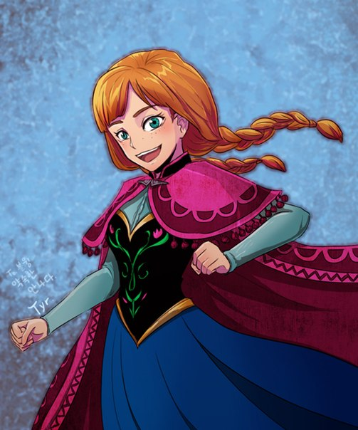 Анна Холодное Сердце Стильная Прическа