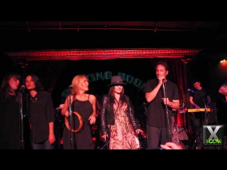David duchovny, madie martin  gillian anderson @ the cutting room - 2nd encore