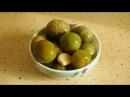 Засолка зелёных помидоров холодным способом Salting green tomatoes cold