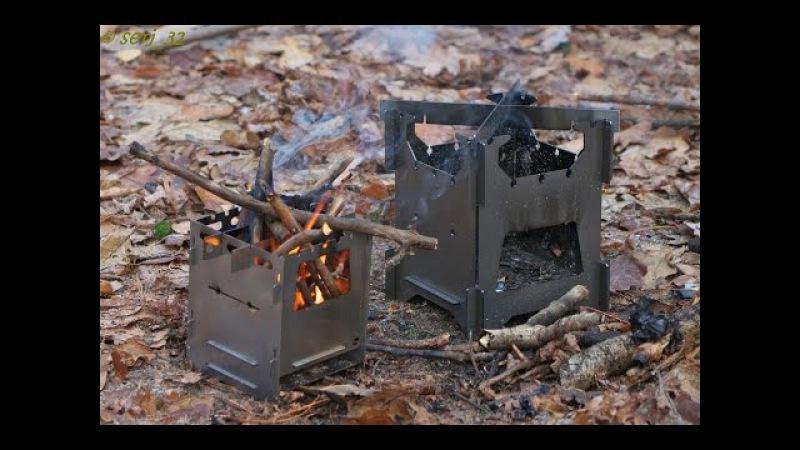 Печка щепочница от LSA Bushcraft Outdoor©