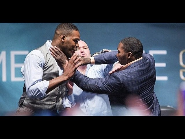 Jon Jones, Anthony Johnson Play Prank on Dana White