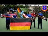 Кричалка 5 курс ФПБ (Германия)