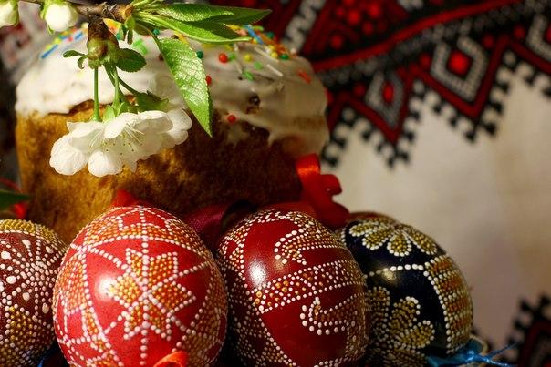 Крашанки. Вітання з Великодніми святами!