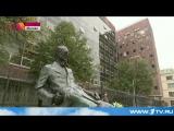 В Москве появился памятник французскому архитектору Ле Корбюзье. 15 октября 2015, Четверг, 21:30